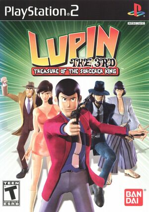Cover for Lupin the 3rd: Treasure of the Sorcerer King.