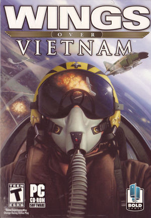 Cover for Wings Over Vietnam.