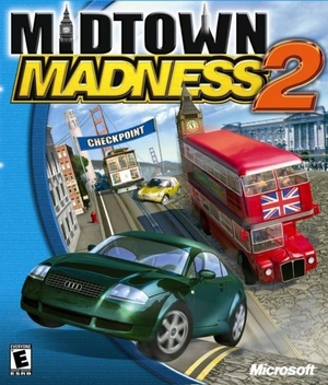Cover for Midtown Madness 2.