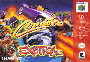 Cover for Cruis'n Exotica.