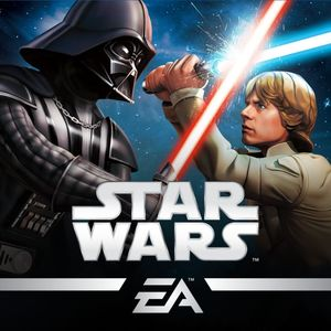 Cover for Star Wars: Galaxy of Heroes.