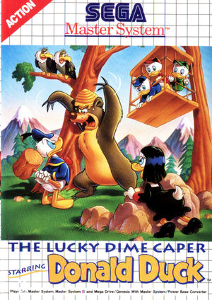 Cover for Lucky Dime Caper.