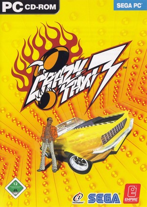 Cover for Crazy Taxi 3: High Roller.