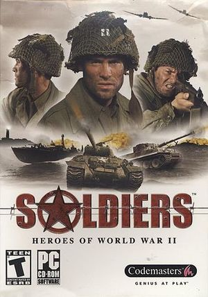 Cover for Soldiers: Heroes of World War II.