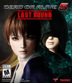 Cover for Dead or Alive 5 Last Round.