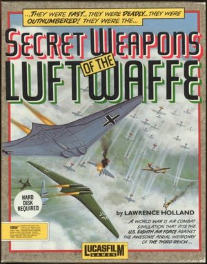Cover for Secret Weapons of the Luftwaffe.