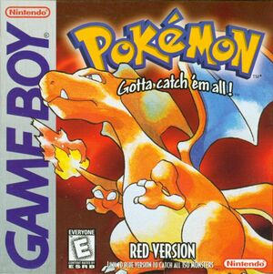 Cover for Pokémon Red.