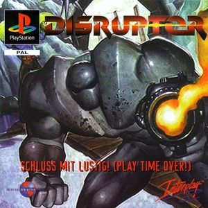 Cover for Disruptor.