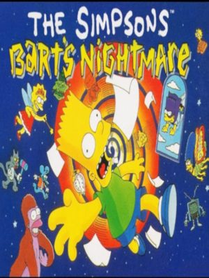 Cover for The Simpsons: Bart's Nightmare.
