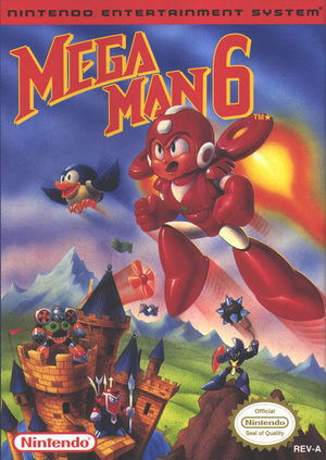 Cover for Mega Man 6.