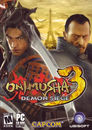 Cover for Onimusha 3: Demon Siege.
