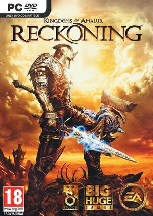 Cover for Kingdoms of Amalur: Reckoning.