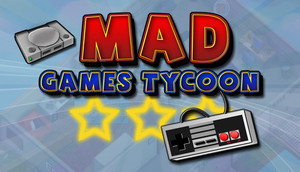 Cover for Mad Games Tycoon.