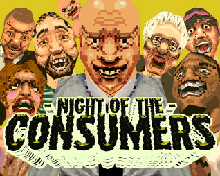 Cover for Night Of The Consumers.