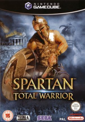 Cover for Spartan: Total Warrior.