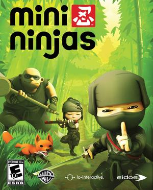 Cover for Mini Ninjas.