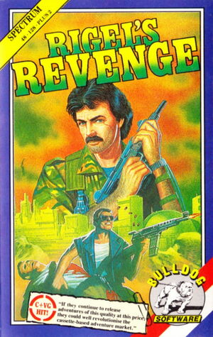 Cover for Rigel's Revenge.