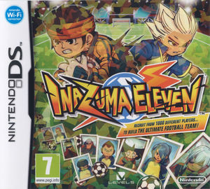 Cover for Inazuma Eleven.