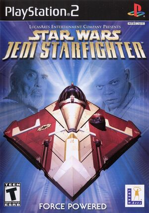 Cover for Star Wars: Jedi Starfighter.