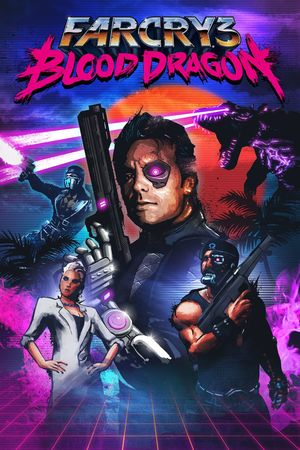Cover for Far Cry 3: Blood Dragon.