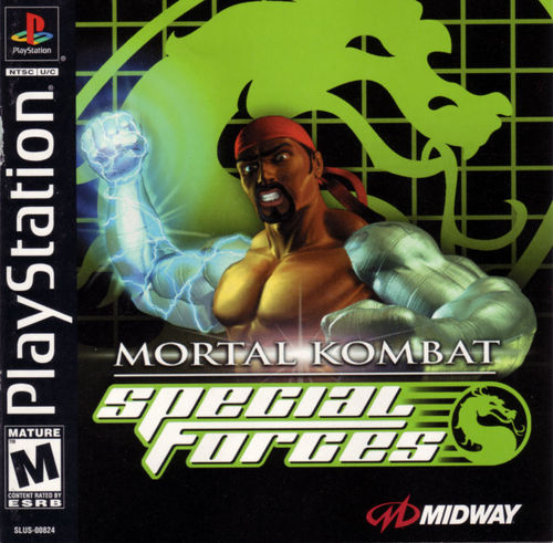 Cover for Mortal Kombat: Special Forces.