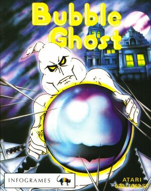 Cover for Bubble Ghost.
