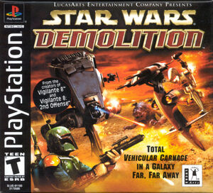 Cover for Star Wars: Demolition.