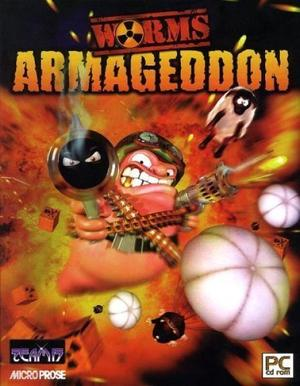 Cover for Worms Armageddon.