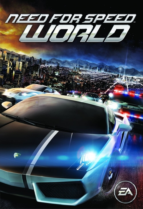 Cover for Need for Speed: World.