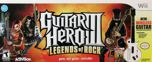 Cover for Guitar Hero III: Legends of Rock.
