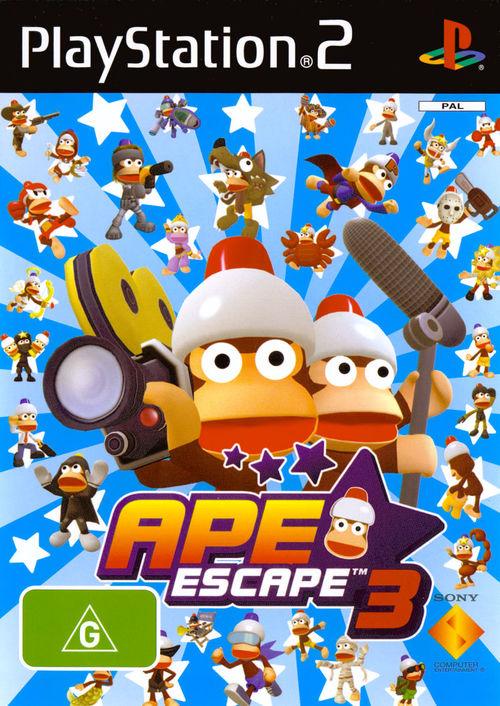 Cover for Ape Escape 3.
