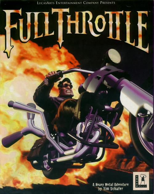 Cover for Full Throttle.