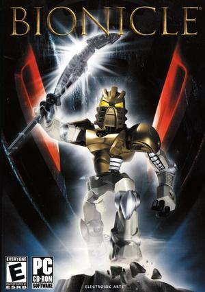 Cover for Bionicle: The Game.