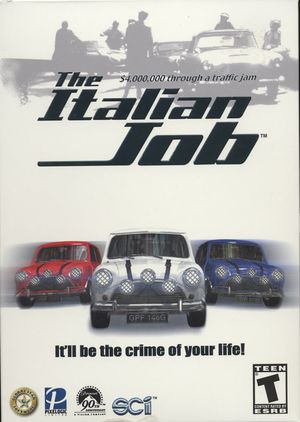 Cover for The Italian Job.