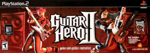Cover for Guitar Hero II.