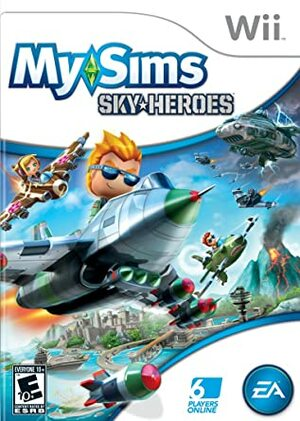 Cover for MySims SkyHeroes.
