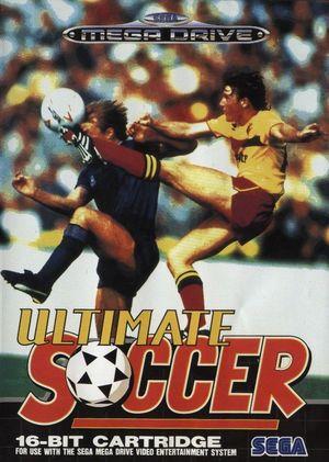 Cover for Ultimate Soccer.