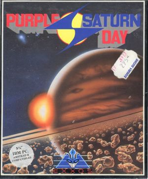 Cover for Purple Saturn Day.