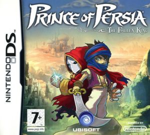 Cover for Prince of Persia: The Fallen King.