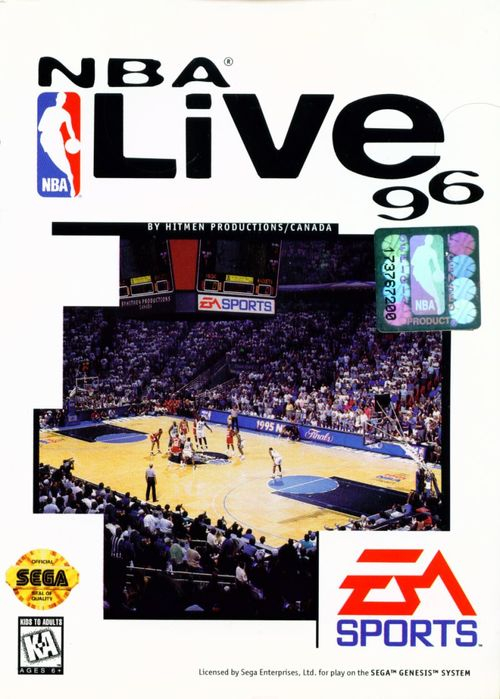 Cover for NBA Live 96.