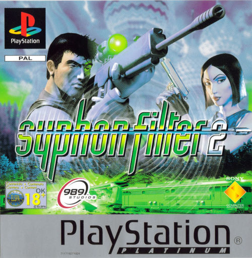 Cover for Syphon Filter 2.
