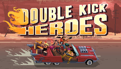Cover for Double Kick Heroes.