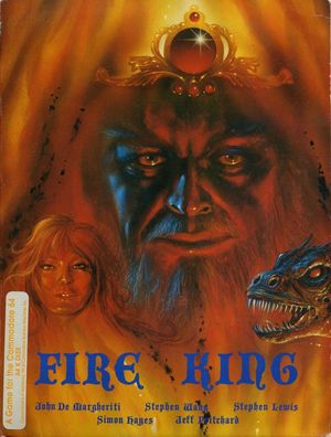 Cover for Fire King.