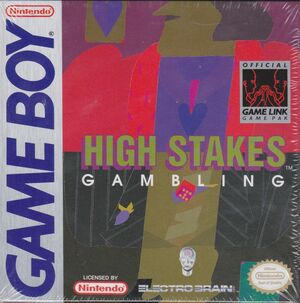 Cover for High Stakes Gambling.