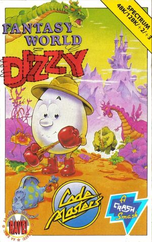 Cover for Fantasy World Dizzy.
