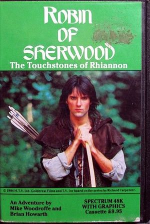 Cover for Robin of Sherwood: The Touchstones of Rhiannon.
