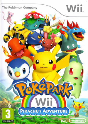Cover for PokéPark Wii: Pikachu's Adventure.