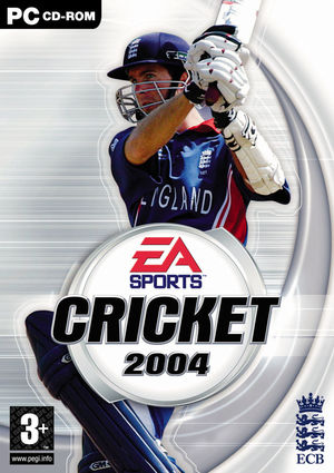 Cover for Cricket 2004.