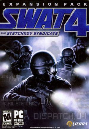 Cover for SWAT 4: The Stetchkov Syndicate.