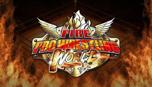 Cover for Fire Pro Wrestling World.
